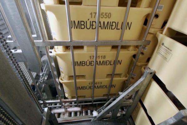 Borgarplast hefur um árabil framleitt ker fyrir Umbúðamiðlun