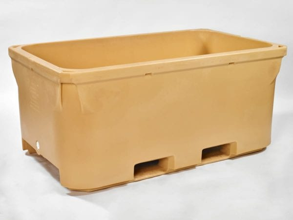 Borgarplast manufactures 1400 PUR insulated bulk containers (Tuna containers)