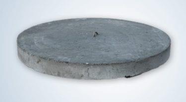 Borgarplast selur steypt lok fyrir 600mm brunna og mannop